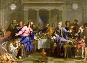 Philippe de Champaigne - Christ in the House of Simon the Pharisee, c.1656
