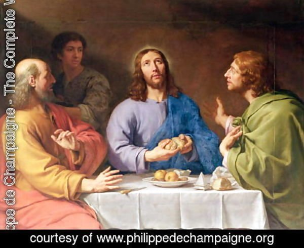 Philippe de Champaigne - The Supper at Emmaus 2