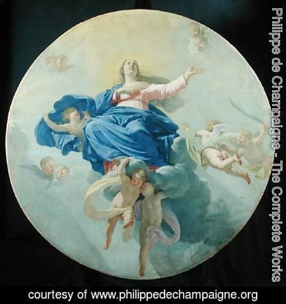 Philippe de Champaigne - The Assumption of the Virgin, c.1656