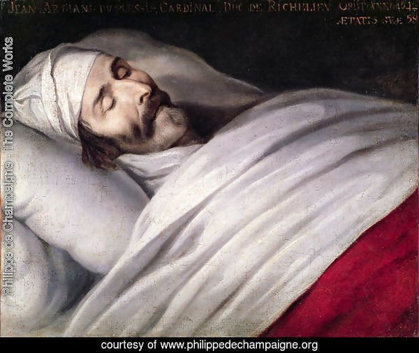 Cardinal Richelieu (1585-1642) on his Deathbed