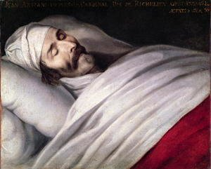 Philippe de Champaigne - Cardinal Richelieu (1585-1642) on his Deathbed