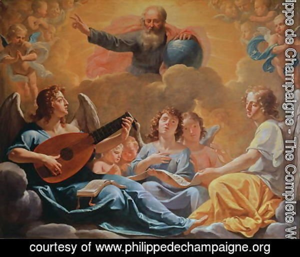 Philippe de Champaigne - A Concert of Angels