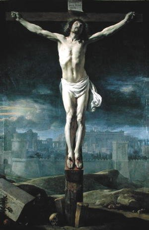 Philippe de Champaigne - Christ on the Cross, before 1650
