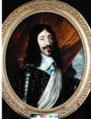 Portrait of Louis XIII (1601-43) after 1610