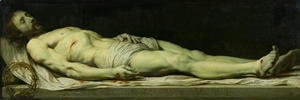Philippe de Champaigne - The Dead Christ on his Shroud