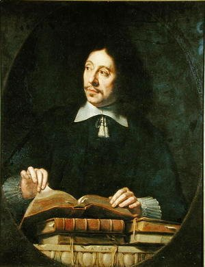 Portrait presumed to be Etienne Delafons, 1648