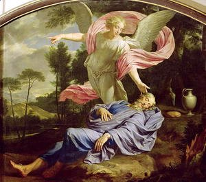 Philippe de Champaigne - The Dream of Elijah, 1650-55