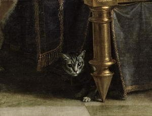 Philippe de Champaigne - Christ in the House of Simon the Pharisee, c.1656 (detail)