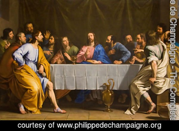 Philippe de Champaigne - The Last Supper, 1648