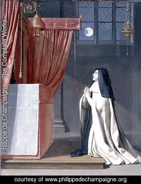 The Vision of St. Juliana (1191-1258) of Mont Cornillon