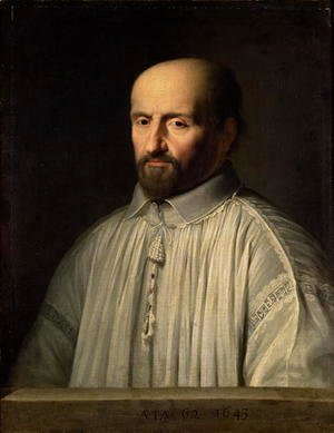 Philippe de Champaigne - Portrait of the Abbot of Saint Cyran, c.1643