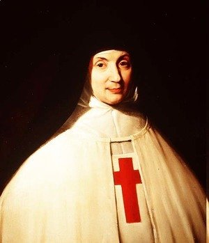 Philippe de Champaigne - Portrait of Mother Marie-Angelique Arnauld (1591-1661) Abbess of Port-Royal, aged 57, 1648