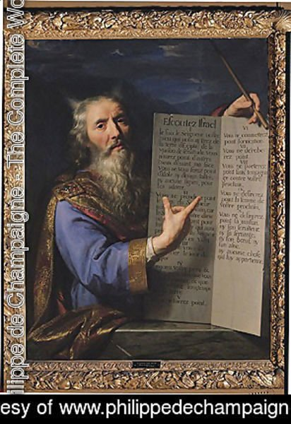 Moses with the Tablets of the Law, 1663