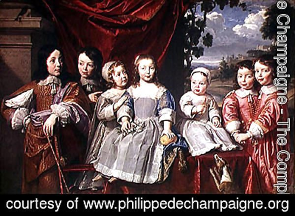 Philippe de Champaigne - The Habert de Montmort Children, 1649