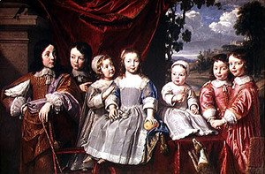 The Habert de Montmort Children, 1649