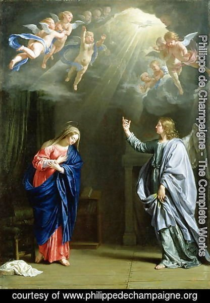 Philippe de Champaigne - The Annunciation, 1644