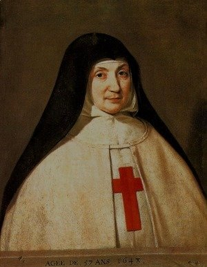 Philippe de Champaigne - Mother Angelique Arnauld, Abbess of Port-Royal