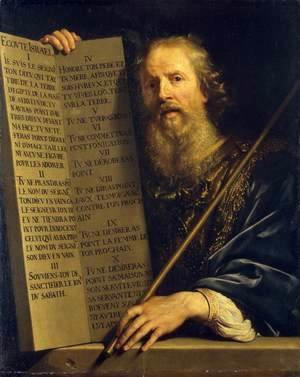 Philippe de Champaigne - Moses with the Ten Commandments
