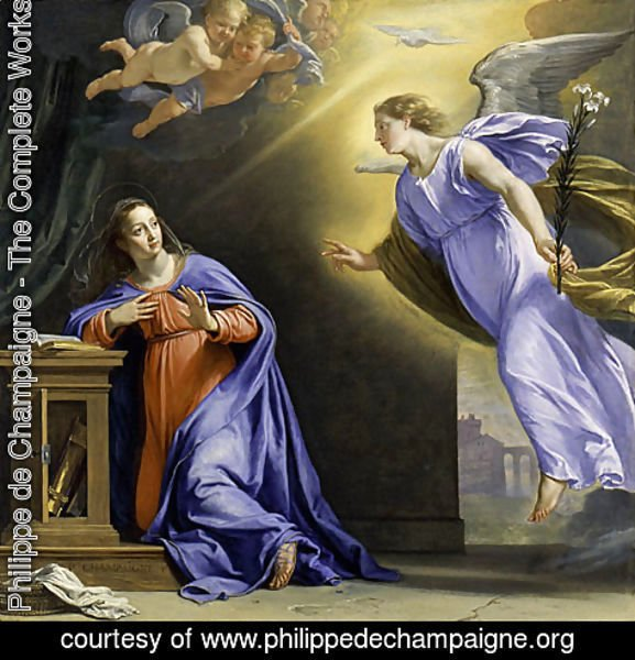 The Annunciation ca 1644