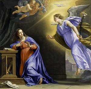 Philippe de Champaigne - The Annunciation ca 1644