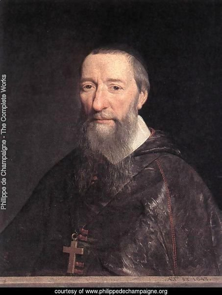 Portrait of Bishop Jean-Pierre Camus 1643