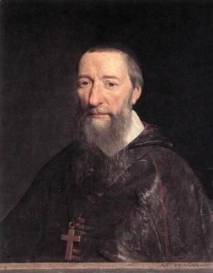 Philippe de Champaigne - Portrait of Bishop Jean-Pierre Camus 1643
