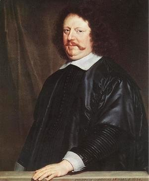 Portrait of Henri Groulart 1654