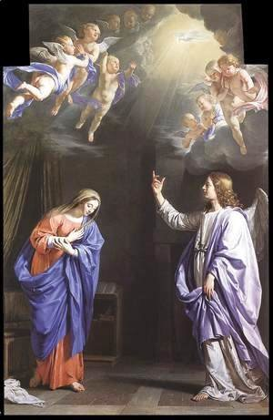 Philippe de Champaigne - The Annunciation c. 1645