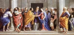 Philippe de Champaigne - The Marriage of the Virgin c. 1644