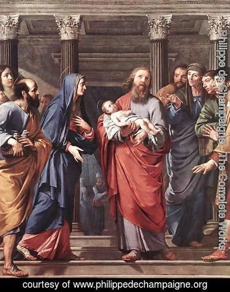 Philippe de Champaigne - The Presentation of the Temple 1648