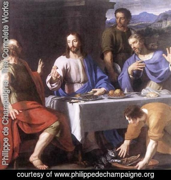 Philippe de Champaigne - The Supper at Emmaus