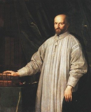 Philippe de Champaigne - de Hauranne, also known as Saint-Cyran